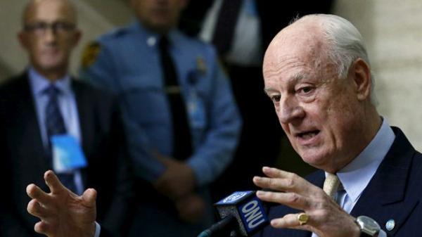 دي ميستورا: نعمل بجد لتطبيق اتفاق خفض التصعيد في سوريا