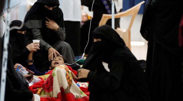 الصحة العالمية: وباء الكوليراء في اليمن بدأ بالتراجع