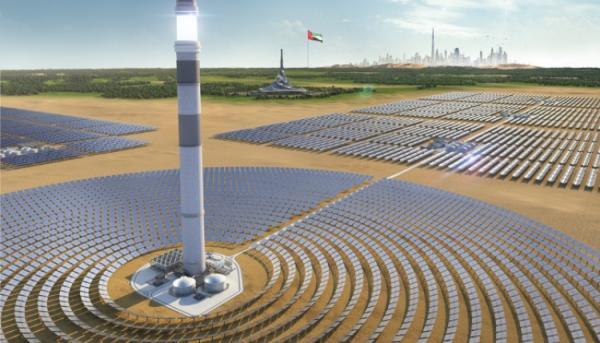 الإمارات: بدء تشغيل أكبر محطة للطاقة الشمسية في العالم