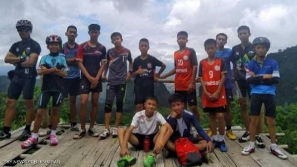 العثور على &#34صبية الكهف&#34 في تايلاند