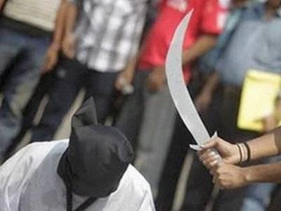 إعدام يمني بقطع رأسه في السعودية بتهمة الاغتصاب والقتل