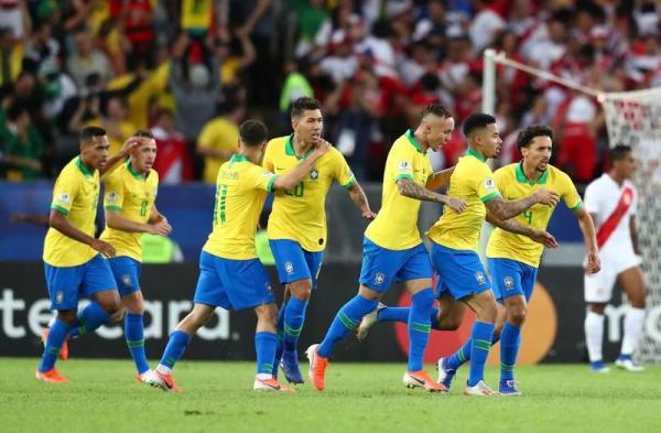 البرازيل تفوز 3-1 على بيرو وتحرز لقب كوبا أمريكا للمرة التاسعة