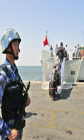 رسميا: الصين تنشر مراكب في خليج عدن وتنشئ قاعدة عسكرية بجيبوتي