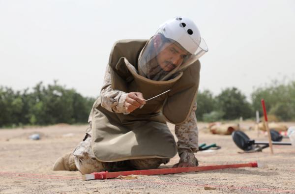 """تمديد مشروع """"مسام"""" لإزالة الألغام في اليمن"""