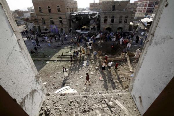 10 غارات سعودية استهدفت صنعاء
