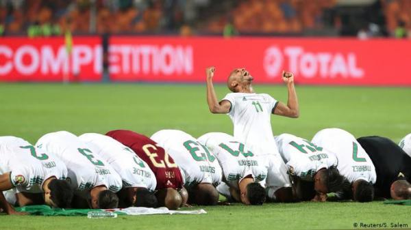 دموع ورقص وفخر.. تتويج &#34الخضر&#34 يشعل مواقع التواصل