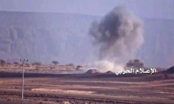 تدمير آلية سعودية وقتلى في عملية نوعية بنجران