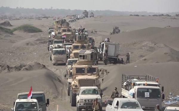 وصول تعزيزات عسكرية لقوات المقاومة الوطنية إلى جبهة الساحل الغربي