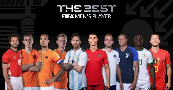 بينهم عربي واحد.. تعرف على المرشحين لجائزة أفضل لاعب (الأسماء)
