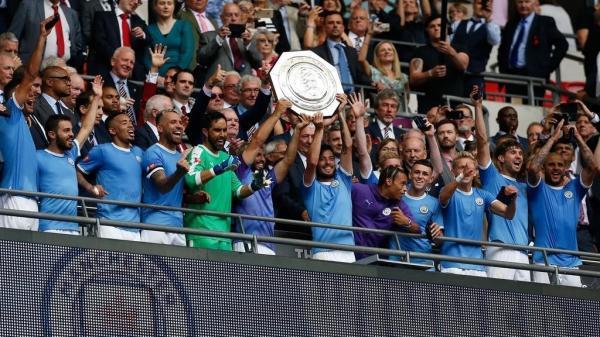 مانشستر سيتي يفوز بلقب مسابقة &#34درع المجتمع&#34 الإنكليزية أمام ليفربول