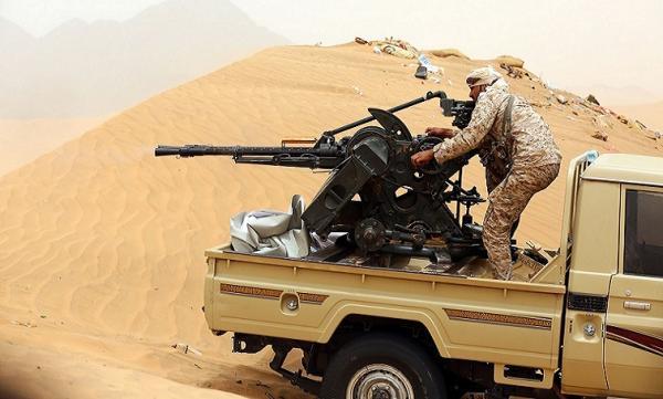 قصف مدفعي وصاروخي استهدف مواقع وتجمعات متفرقة لمليشيا الحوثي في صرواح مأرب