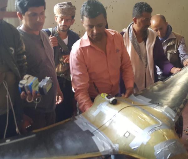إسقاط طائرة استطلاع للحوثيين في تعز
