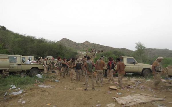 القوات الحكومية تبسط سيطرتها على ملاحيظ صعدة القريبة من جبال مران ومقتل قياديين حوثيين