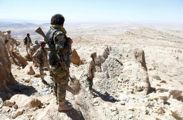 القوات الحكومية تسيطر على سلسلة جبلية بين الجوف وصعدة
