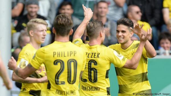 كأس ألمانيا: دورتموند وبايرن يضربان بقوة في الدور الأول