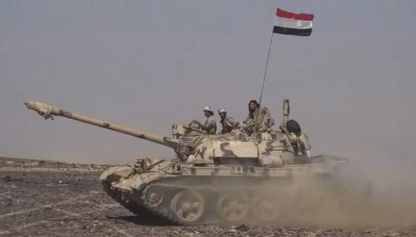 القوات الحكومية تشن هجوما عنيفا على مواقع الحوثي بباقم صعدة