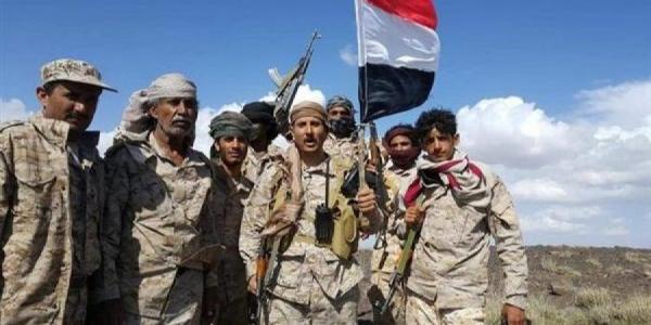القوات الحكومية تصد هجوما حوثياً شرق حيران حجة