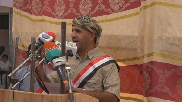 العميد دويد: معركتنا باتجاه الحوثي شمالا ولا صحة لما تروجه ابواق الفتنة