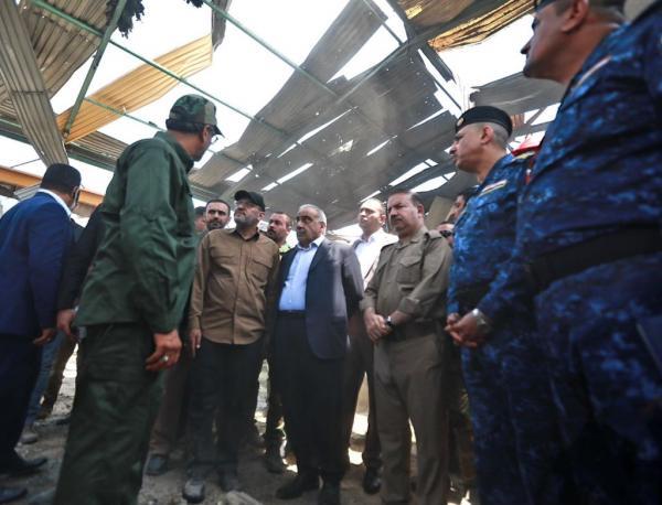 مسؤول عراقي: اسرائيل قصفت مستودعا ايرانيا في بغداد