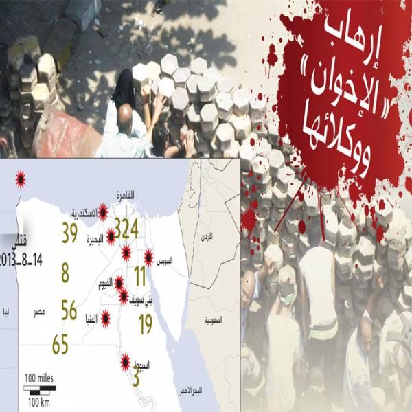 تأهب في مصر لإحباط مخططات التخريب «الإخوانية».. وقوات الأمن تضع خطة محكمة بالتنسيق مع الجيش