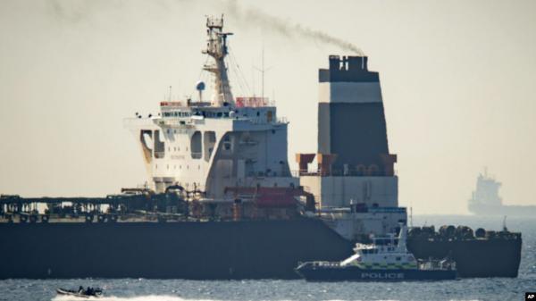 الولايات المتحدة تعلن إصدار مذكرة لضبط ناقلة النفط الإيرانية &#34غريس 1&#34