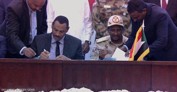 #فرح_السودان: توقيع وثائق الفترة الانتقالية وسط حضور عربي وإفريقي ودولي واسع