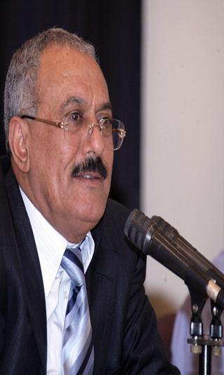 الرئيس صالح يفصح عن رسالة مهرجان 24 اغسطس