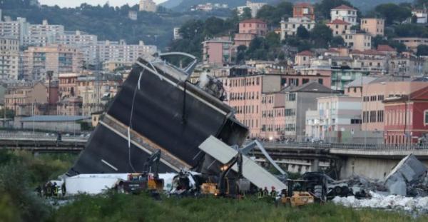 إيطاليا: العثور على مزيد من جثث الضحايا تحت أنقاض الجسر المنهار في جنوى