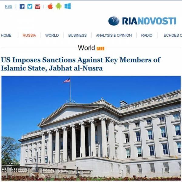 عقوبات أمريكية على المتحدث باسم &#34داعش&#34 وعضو بـ&#34جبهة النصرة&#34