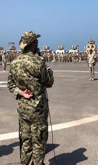 العميد طارق صالح لـ&#34حراس الجمهورية&#34: كل انتصار تحققونه يصنع للوطن فرحة وعيداً