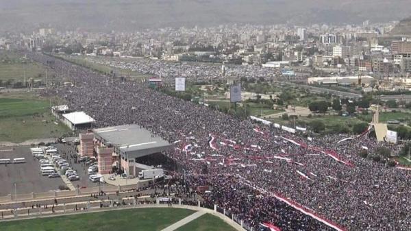 بالصور- مسيرة 20 أغسطس الكبرى في &#34السبعين&#34 بصنعاء