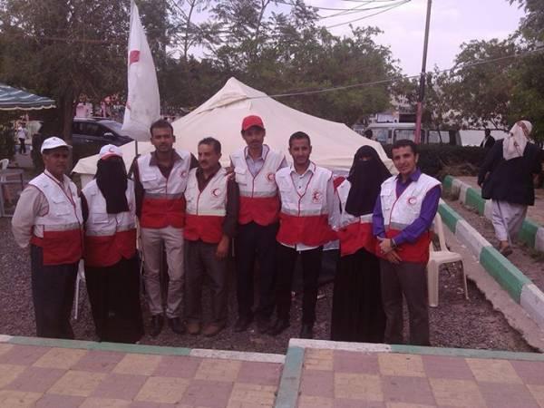 الهلال الاحمر يشارك في مهرجان صيف صنعاء السياحي السابع