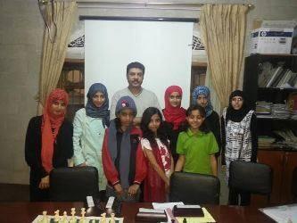 نتائج جيدة لفتيات شطرنج اليمن في انطلاق البطولة العربية بالأردن