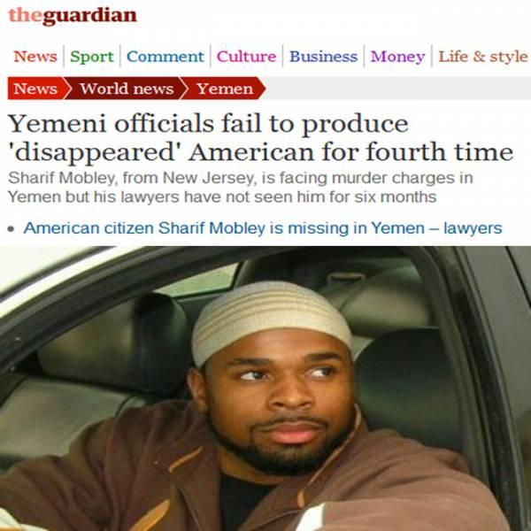 الحكومة اليمنية تفشل للمرة الرابعة في إحضار الأمريكي المختفي قسرياُ &#34شريف موبلي&#34