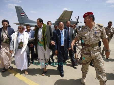 &#34الرئاسية&#34 تصل صنعاء وتلتقي بالرئيس بعد فشل المفاوضات مع &#34الحوثي&#34