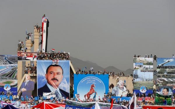 With our spirit and our blood, we sacrifice for you oh Yemen