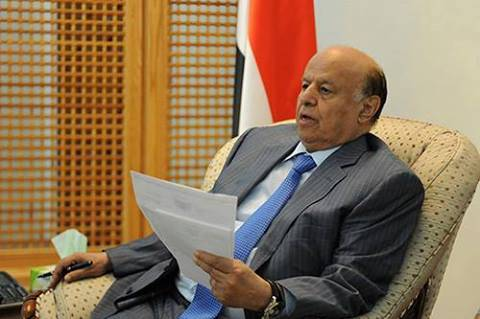 الرئيس هادي يتسلم رسالة من زعيم الحوثيين