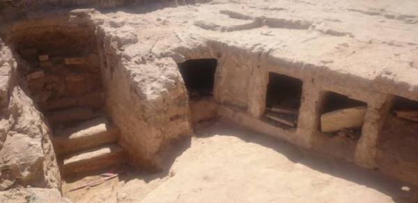 اكتشاف جزء من الجبانة الغربية لمدينة الإسكندرية في العصر البطلمي