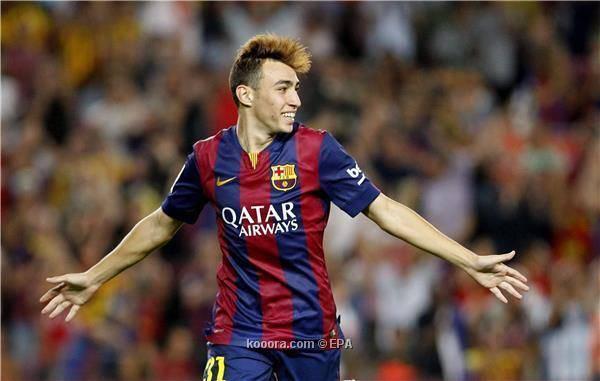 آرسنال الانجليزي يسعى لخطف &#34الحدادي&#34 من برشلونة الاسباني