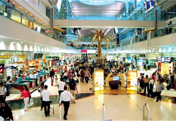 مطار دبي الأول عالمياً في عدد الركاب