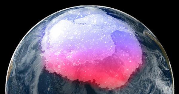 باحثون يكتشفون غباراً مشعاً من مستعر أعظم قديم مدفونًا في القارة القطبية الجنوبية