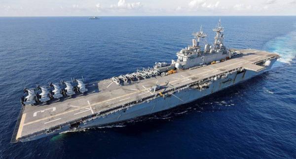 """البحرية الأمريكية تحذِّر من """"تهديد بحري"""" في البحر الأحمر قبالة اليمن"""