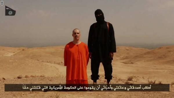 مسئول أمريكي: الأمن الأمريكي توصل لاحتمال قوي عن هوية عنصر داعش الملثم الذي قتل الصحفي فولي