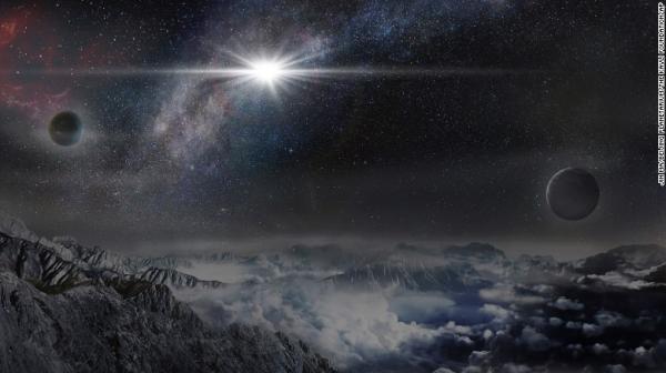 بالصور: اكتشاف توأم &#34مظلم&#34 لمجرة درب التبانة