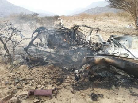 مجلة أمريكية: &#34بدون طيار&#34 تقصف.. و&#34الدفاع&#34 اليمنية تنسب الغارة للطيران الحربي