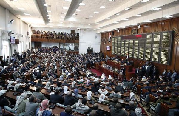 البرلمان العربي يدين قيام مليشيا الحوثي بالحجز والتحفظ على أموال وممتلكات 34 برلمانياً يمنياً