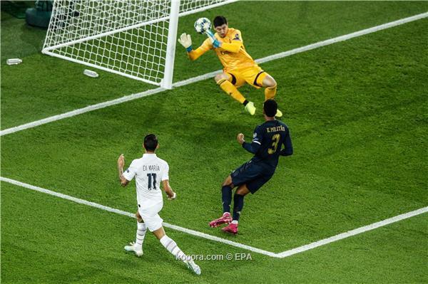 باريس سان جيرمان يكتسح ريال مدريد بثلاثية نظيفة