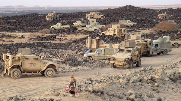 مأرب: تعزيزات عسكرية تصل المرتزقة في &#34ماس&#34