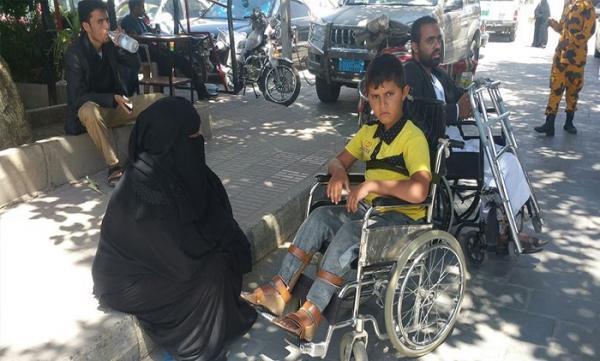 الحوثيون ينهبون صندوق رعاية وتأهيل المعاقين بالعاصمة صنعاء