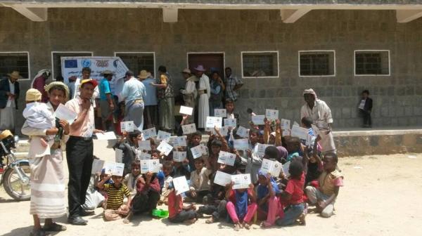منح تسعة الاف شهادة ميلاد في حملة تسجيل المواليد بصنعاء